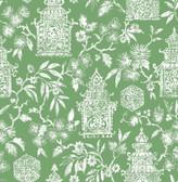 NUS4036 - Green Danson Peel & Stick Wallpaper
