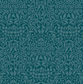NUS4038 - Teal Darcy Peel & Stick Wallpaper