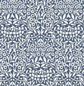 NUS4040 - Navy Darcy Peel & Stick Wallpaper