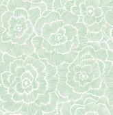 NUS4046 - Green Saraya Peel & Stick Wallpaper