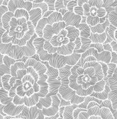 NUS4047 - Charcoal Saraya Peel & Stick Wallpaper