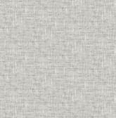 NU2873 - Grey Poplin Texture Peel & Stick Wallpaper