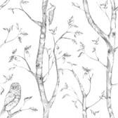 NUS1412 - Grey Woods Peel & Stick Wallpaper