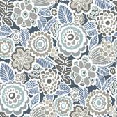 NUS3160 - Dream On Navy Peel & Stick Wallpaper