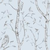 NU1413 - Blue Woods Peel & Stick Wallpaper
