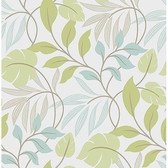 NU1657 - Blue and Green Meadow Peel & Stick Wallpaper