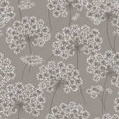 NU1693 - Angelica Grey Peel & Stick Wallpaper