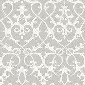 NU1699 - Ironwork Grey Peel & Stick Wallpaper