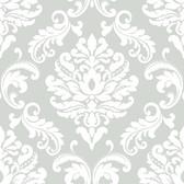 NUS1935 - Ariel Grey Peel & Stick Wallpaper