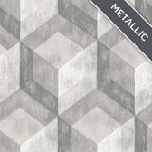 NU2277 - Bauhaus Weathered Wood Peel & Stick Wallpaper