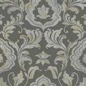 York Wallcoverings GF0701 Gold Leaf Contempo - Damask Wallpaper,