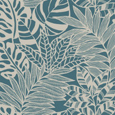 SS2572 - Jungle Leaves Wallpaper