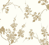SS2590 - Imperial Blossoms Branch Wallpaper