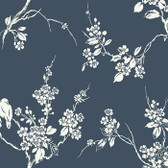 SS2592 - Imperial Blossoms Branch Wallpaper
