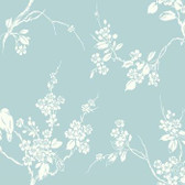 SS2593 - Imperial Blossoms Branch Wallpaper