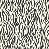 Black & White Book Zebra Skin Wallpaper - RU8166