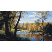 LAKE FOREST LODGE WHEN SUMMER TURNS AUTUMN MURAL-MULTI