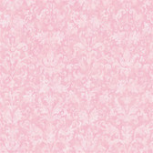 YK0180-York Kids IV Distressed Damask Wallpaper YK0180-Pinks