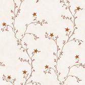 RF3525-Welcome Home Star Berry Vine Wallpaper