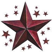 RMK2197GM-Welcome Home Modern Barn Star Wall Decal Wall Applique
