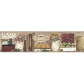 YC3338BD-Welcome Home Cupboard Shelf Border