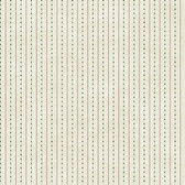 YC3353-Welcome Home Dots W/Ticking Stripe Wallpaper