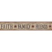 YC3390BD-Welcome Home Faith, Family, Friends Border