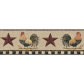 YC3401BD-Welcome Home Rooster Border