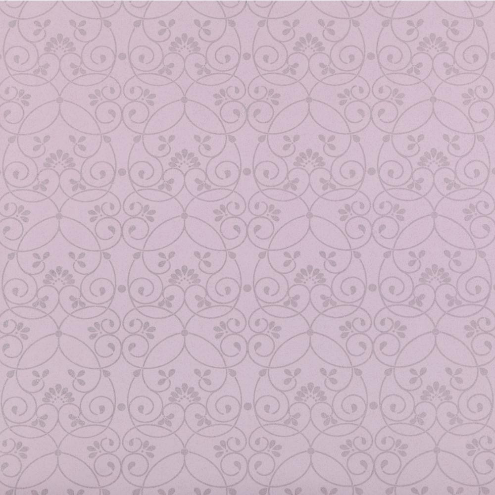 Je3553 Contemporary Friends Forever Glitter Scroll Periwinkle Wallpaper