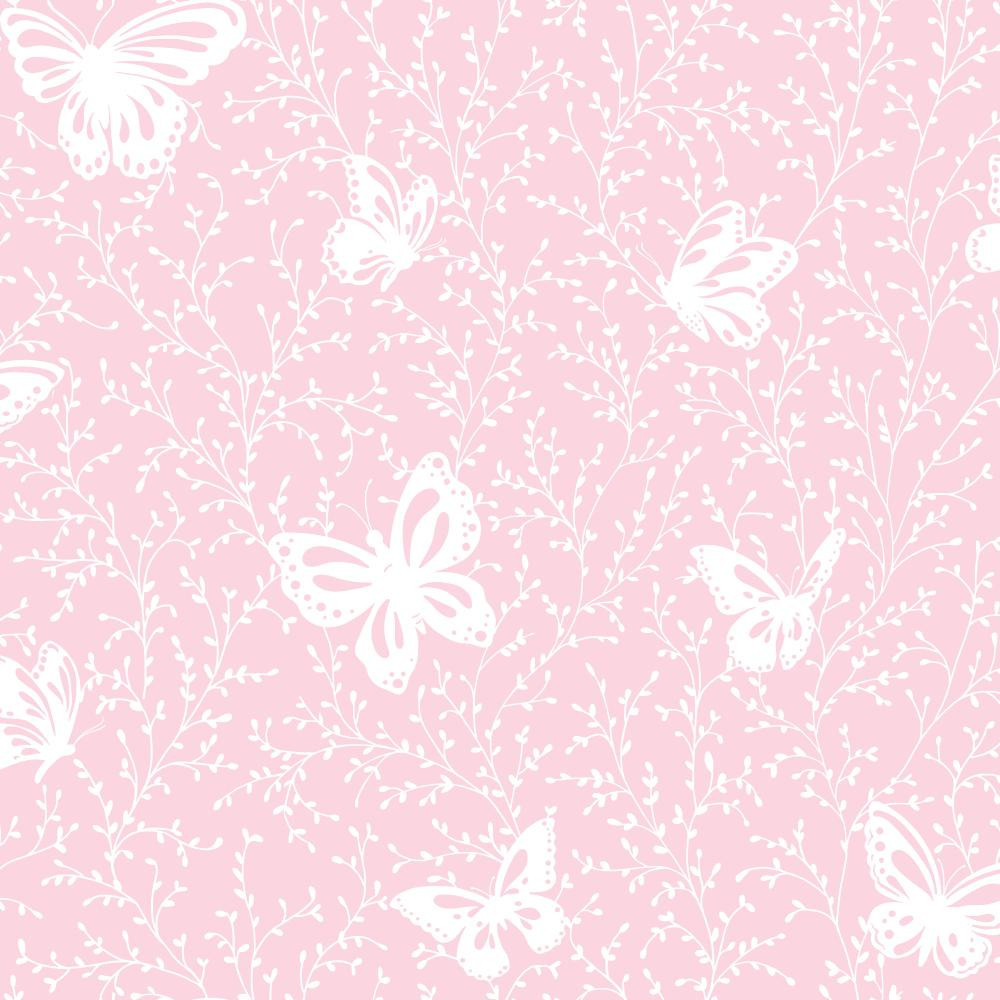 Ys9217 Peek A Boo Butterfly Garden Wallpaper Indoorwallpaper Com