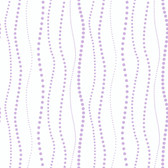 KD1848-PEEK-A-BOO DOTTY STRIPE WALLPAPER-pearled lavender-warm white