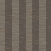 "Gentle Manor 3"" Stripe Charcoal Wallpaper GG4702"