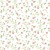 Waverly Cottage Bellisima Vine Pearl-Pink Wallpaper ER8188