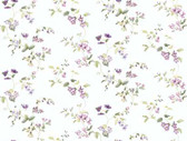 Keepsake Wild Flower Trail Violet-Green Wallpaper GP7291