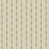 Keepsake Rose Stripe Wallpaper Grey GP7320