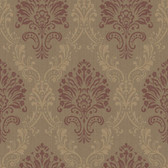 Riverside Park FD8433 FABRIC DAMASK WALLPAPER