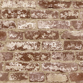 Risky Business II Tone On Tune Wallpaper RB4305 -Deep Red Brick