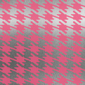 Risky Business II Jackie-Oh! Wallpaper RB4269 -Hot Pink-Silver Mylar