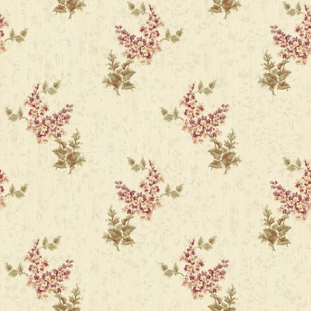 Rhapsody Floral Trail Wallpaper Vr3412 Indoorwallpaper Com