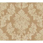 Rhapsody Regal Framed Damask Wallpaper-VR3501 -gold rush- rich cream- on the beach beige