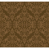 Regents Glen Damask Spot Wallpaper-PP5729-Milk Chocolate Brown-Bronze