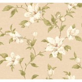 Regents Glen My Magnolia Wallpaper-PP5743-Linen-White-Neutrals