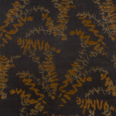 Contemporary Enchantment Foliage Toss Black-Gold ET2021 Wallpaper