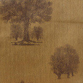 Contemporary Enchantment Arboretum ET2065 Brown-Gold Wallpaper