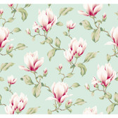 Ashford House Blooms Magnolia Branch YV8996 Wallpaper