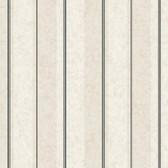 AM8757 - American Classics Crackled Stripe Eggshell-Grey Wallpaper