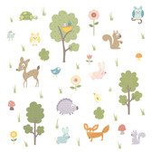 Kids Book Woodland Animals Appliques RMK1398SCS