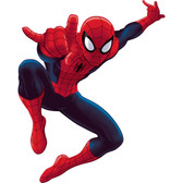 Kids Book Ultimate Spiderman Giant Wall Decal RMK1796GM