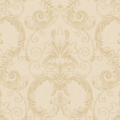 Metallics Book Ashland Ecru Wallpaper CW9297