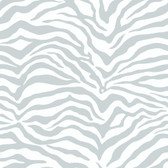 Metallics Book Zebra Skin Grey-White Wallpaper KD1799